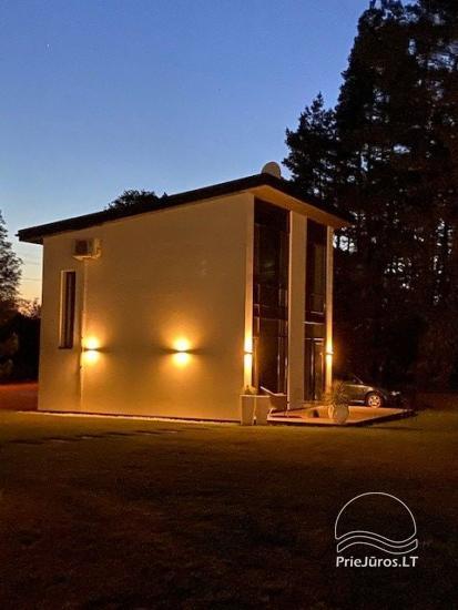 Luxuriös Haus zur Miete Pusyno Oaze: Jacuzzi, Schwimmbad, Terrasse - 11