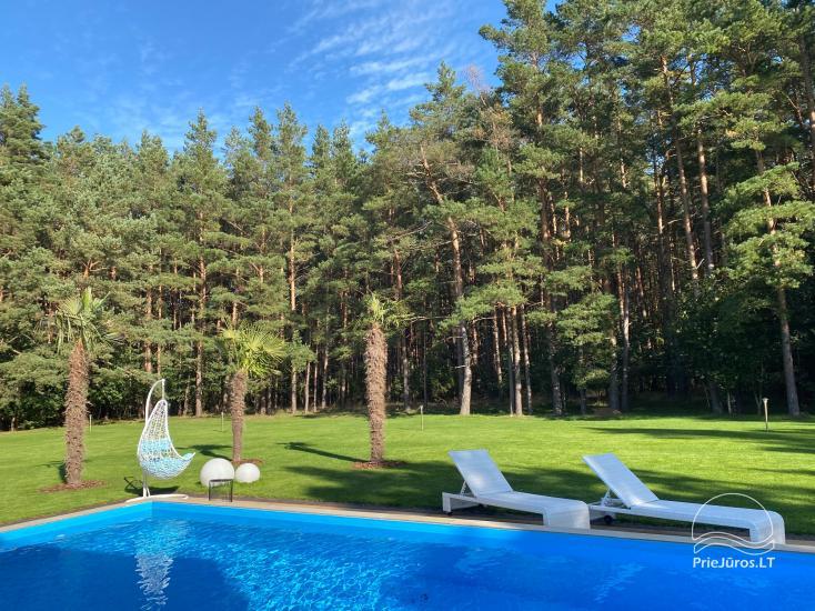 Luxuriös Haus zur Miete Pusyno Oaze: Jacuzzi, Schwimmbad, Terrasse - 17
