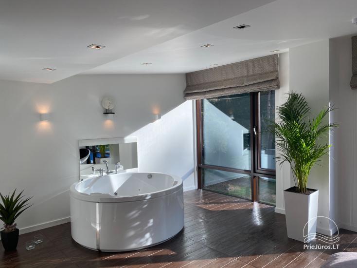 Luxuriös Haus zur Miete Pusyno Oaze: Jacuzzi, Schwimmbad, Terrasse - 16