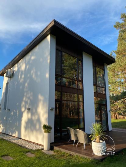 Luxuriös Haus zur Miete Pusyno Oaze: Jacuzzi, Schwimmbad, Terrasse - 18