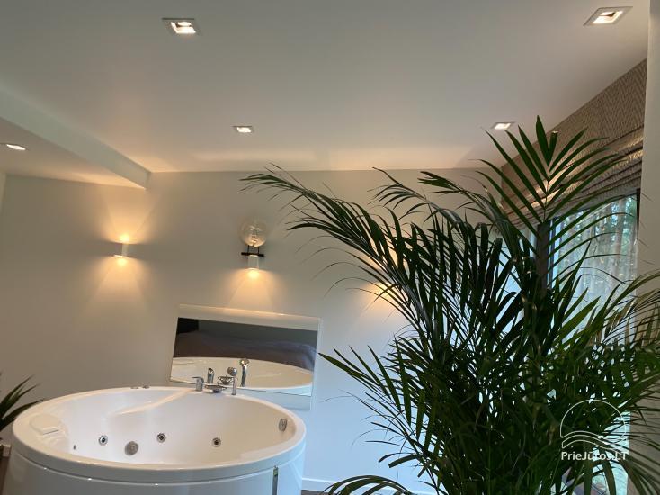 Luxuriös Haus zur Miete Pusyno Oaze: Jacuzzi, Schwimmbad, Terrasse - 21