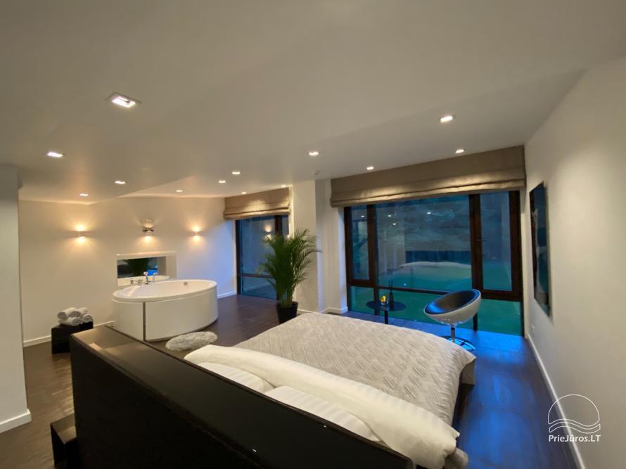 Luxuriös Haus zur Miete Pusyno Oaze: Jacuzzi, Schwimmbad, Terrasse - 25