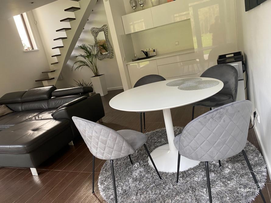 Luxuriös Haus zur Miete Pusyno Oaze: Jacuzzi, Schwimmbad, Terrasse - 31