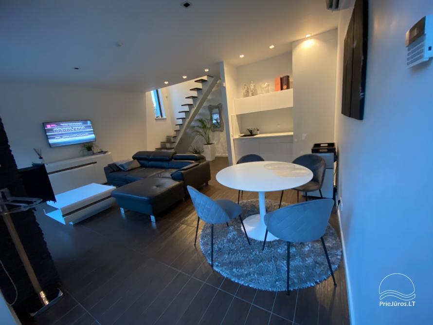 Luxuriös Haus zur Miete Pusyno Oaze: Jacuzzi, Schwimmbad, Terrasse - 34