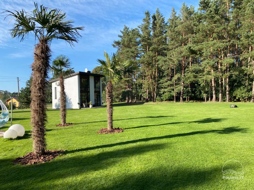 Luxuriös Haus zur Miete Pusyno Oaze: Jacuzzi, Schwimmbad, Terrasse - 36