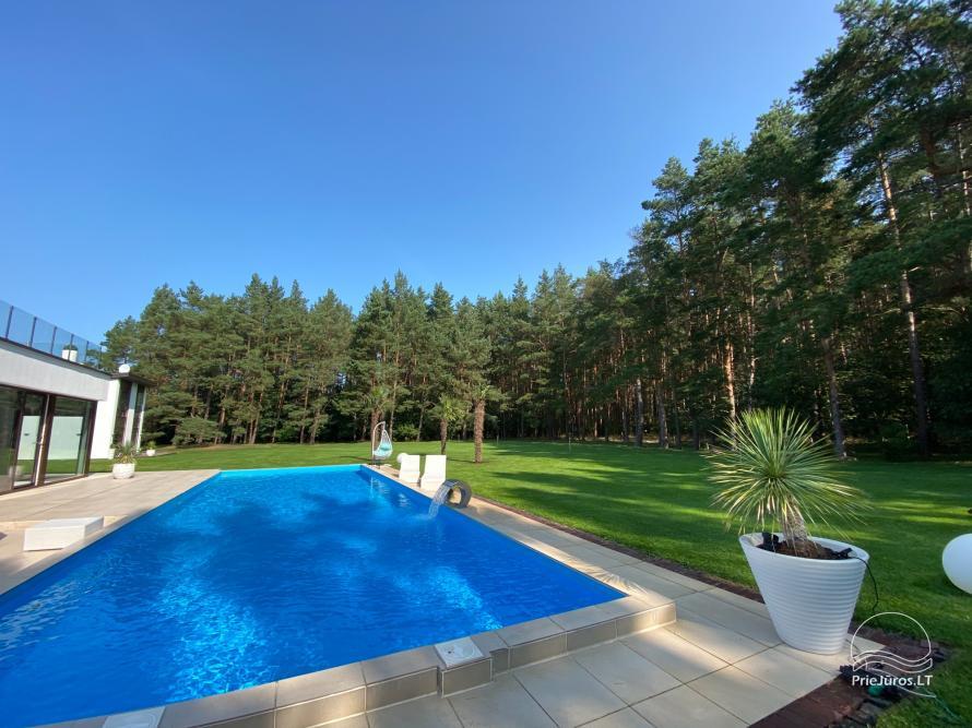 Luxuriös Haus zur Miete Pusyno Oaze: Jacuzzi, Schwimmbad, Terrasse - 39