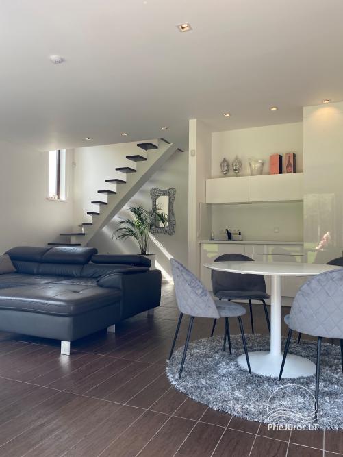 Luxuriös Haus zur Miete Pusyno Oaze: Jacuzzi, Schwimmbad, Terrasse - 46