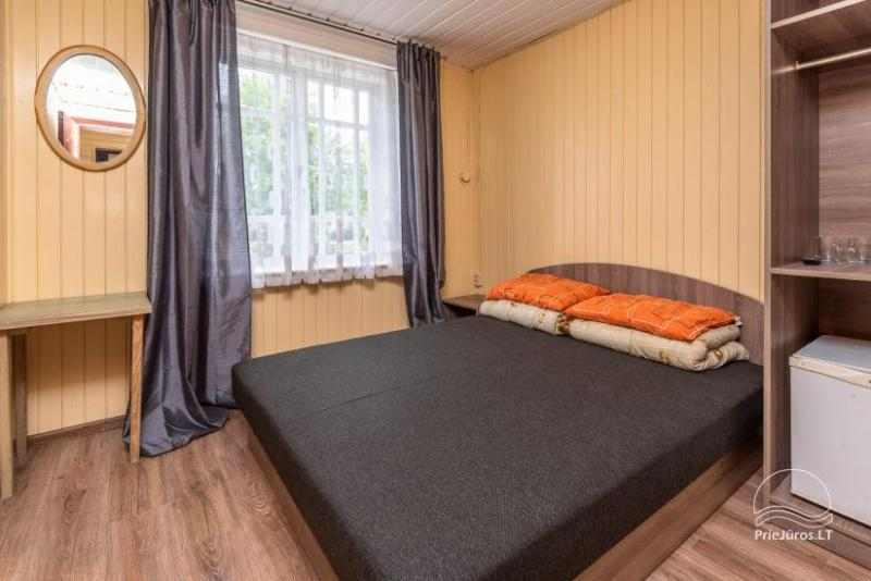 2, 3, 4, 5-vietų kambarių nuoma Palangos centre