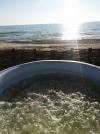 Namelių nuoma šalia Šventosios: kubilas, pirtis, pavėsinė, gultai, jūra už 50m - 5