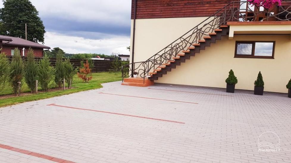 2 studio tipo butų nuoma privačiame name, šalia Klaipėdos - 2