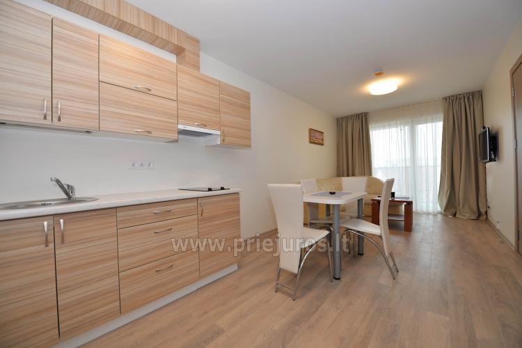 Naujai įrengtas dviejų kambarių butas Palangos centre - 4