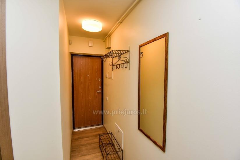 Tikko mēbelēts divu istabu dzīvoklis centrā Palangā - 10