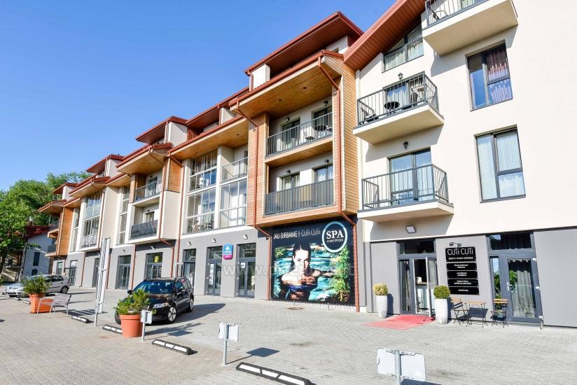 Naujai įrengtas dviejų kambarių butas Palangos centre - 1