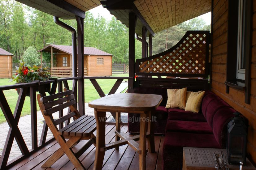 Holiday cottages, rooms and apartments in Sventoji Osupyne - 150 m to the sea! - 6