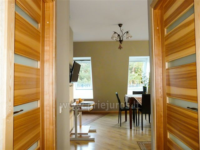 Two rooms apartment with fireplace Nest II for rent in Nida - 4