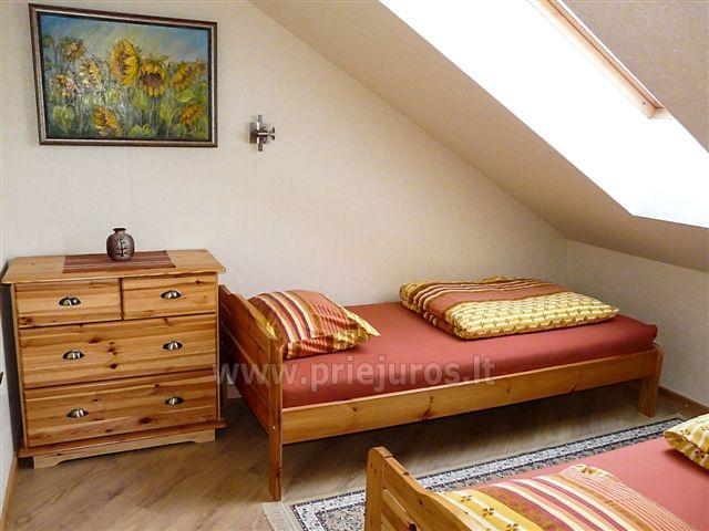 Dviejų kambarių butas Inkilas II su židiniu Nidos centre - 6