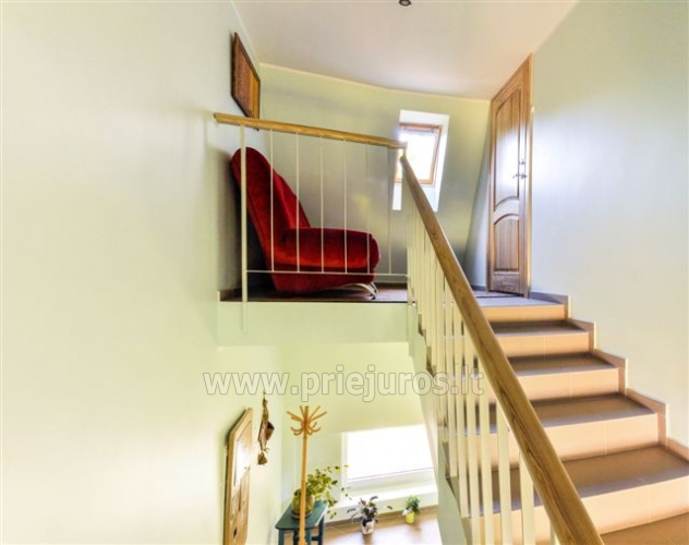 Two rooms apartment with fireplace Nest II for rent in Nida - 10