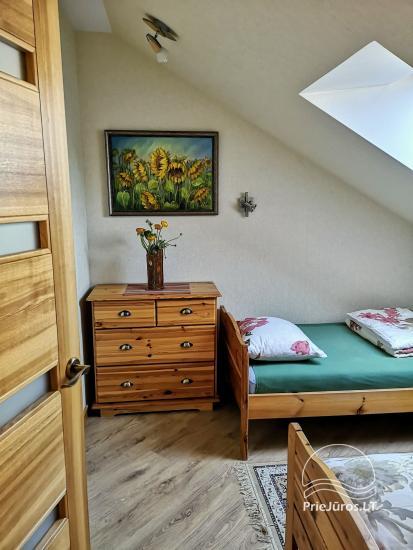 Divas istabas dzīvoklis ar kamīnu Ligzda II īre Nidā - 7