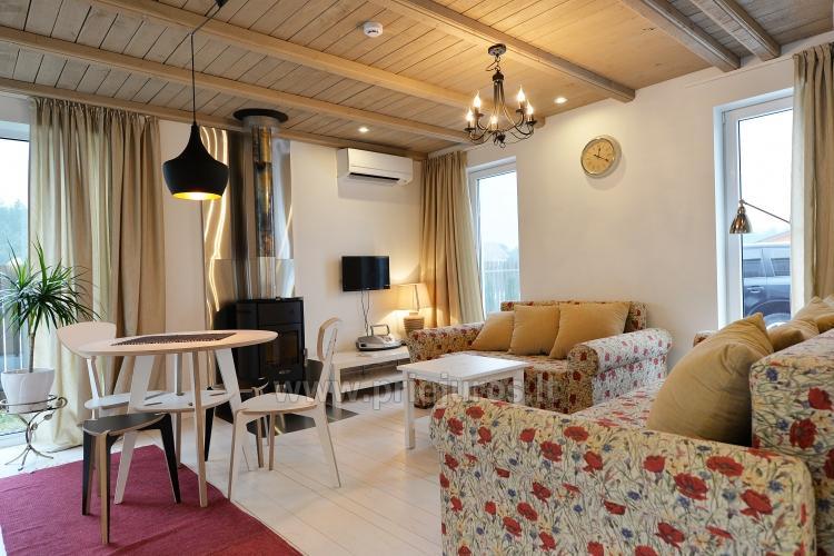 Brīvdienu māja īre pie jūras! 3 istabas, 6 guļvietas