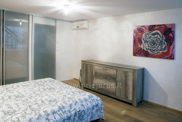 Erdvūs 2 kambarių apartamentai su atskiru įėjimu ir terasa, yra WiFi - 8