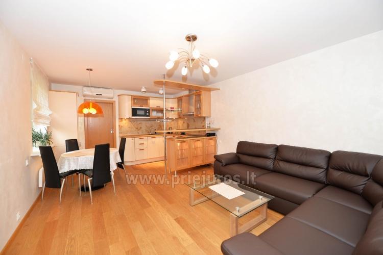 Erdvūs 2 kambarių apartamentai su atskiru įėjimu ir terasa, yra WiFi - 2