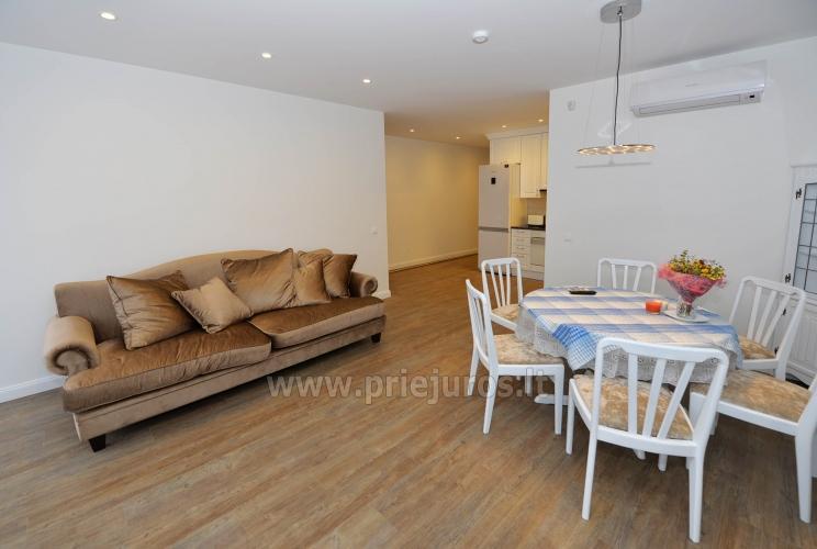 Nauji 78 kv.m. dviejų miegamųjų apartamentai arti jūros - 4