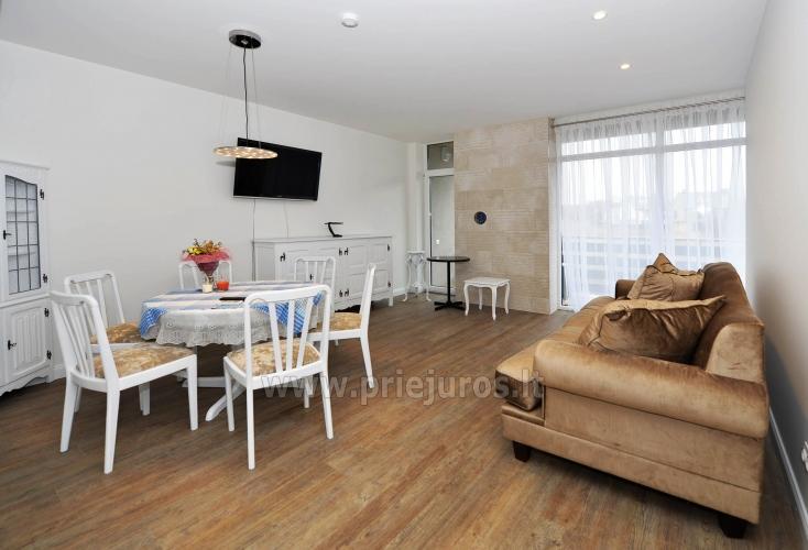 Neue 78 qm Zwei-Zimmer-Wohnung in Palanga in der Nähe des Strandes - 1