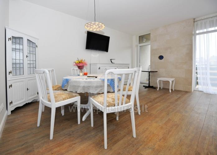 Neue 78 qm Zwei-Zimmer-Wohnung in Palanga in der Nähe des Strandes - 5