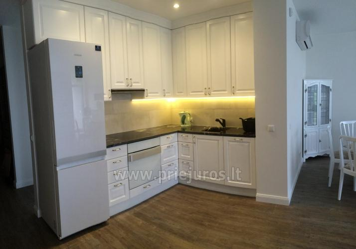 Nauji 78 kv.m. dviejų miegamųjų apartamentai arti jūros - 6
