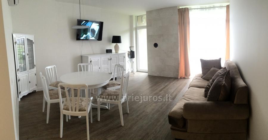 Neue 78 qm Zwei-Zimmer-Wohnung in Palanga in der Nähe des Strandes - 2