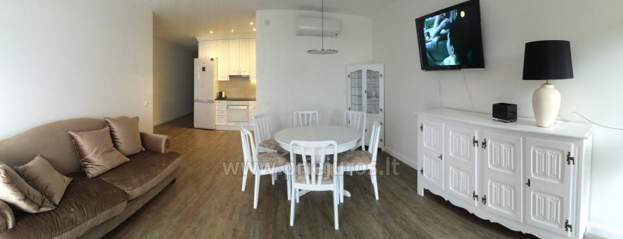 Nauji 78 kv.m. dviejų miegamųjų apartamentai arti jūros - 3