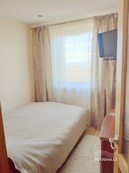 Trijų kambarių butas su vaizdu į jūrą! Iki papludimio tik 50m! - 6