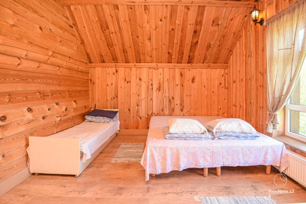 Gehöft Lazdininkų pirtis für Feste und Ferien: Haus, Bankettsaal, Sauna, Whirlpool - 17