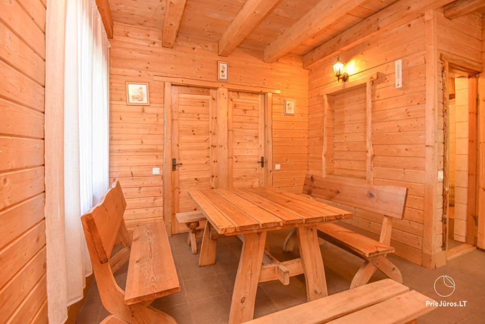 Gehöft Lazdininkų pirtis für Feste und Ferien: Haus, Bankettsaal, Sauna, Whirlpool - 13