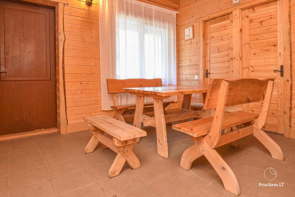 Gehöft Lazdininkų pirtis für Feste und Ferien: Haus, Bankettsaal, Sauna, Whirlpool - 14