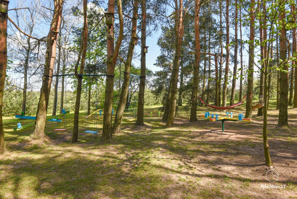 Homestead Lazdininkų pirtis for feasts and vacation: house, banquet hall, sauna, hot tub - 33