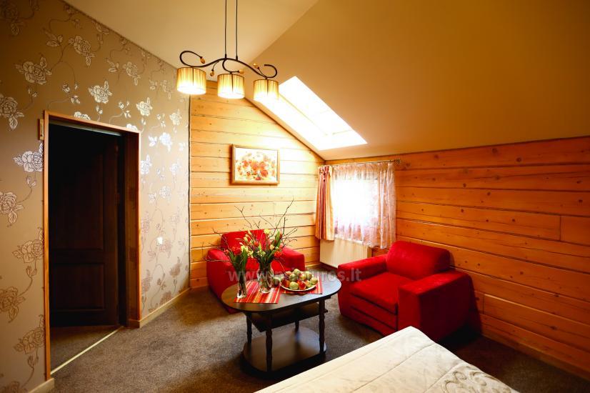 Privāta viesnīca  Palangā: saunu, džakuzi, šūpoles. 280 m līdz jūrai! - 9