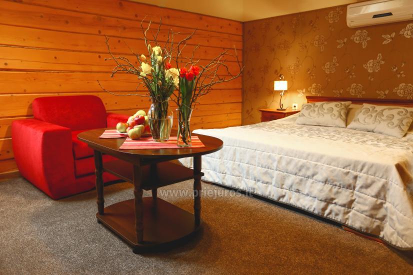 Privāta viesnīca  Palangā: saunu, džakuzi, šūpoles. 280 m līdz jūrai! - 10