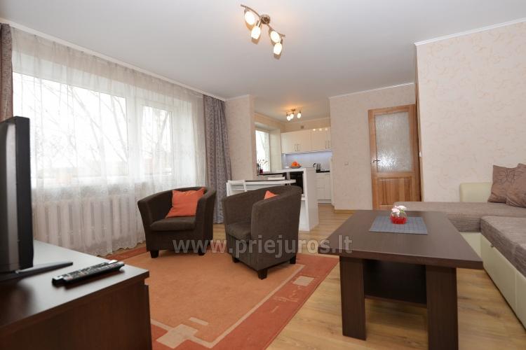 Šiuolaikiškai įrengto dviejų kambarių buto nuoma Klaipėdos centre - 3