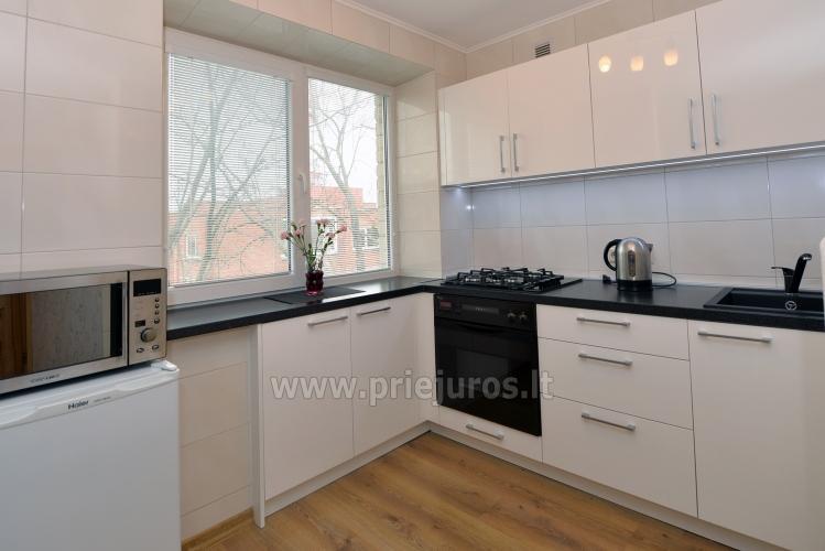 Šiuolaikiškai įrengto dviejų kambarių buto nuoma Klaipėdos centre - 4
