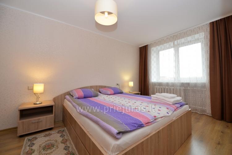 Šiuolaikiškai įrengto dviejų kambarių buto nuoma Klaipėdos centre - 5