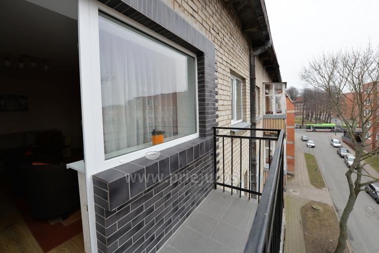 Šiuolaikiškai įrengto dviejų kambarių buto nuoma Klaipėdos centre - 6