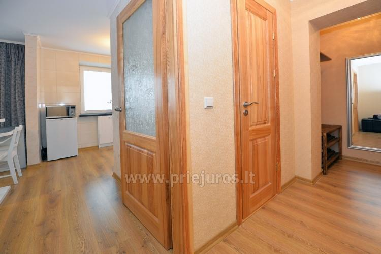 Šiuolaikiškai įrengto dviejų kambarių buto nuoma Klaipėdos centre - 7