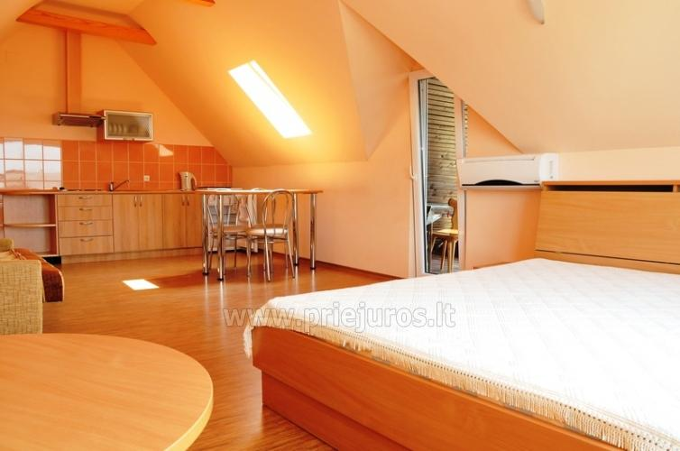 Spacious two-room apartment. Quiet location, 10 min. on foot the the beach - 2