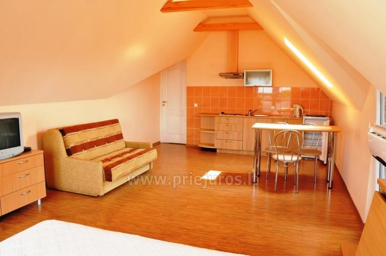 Spacious two-room apartment. Quiet location, 10 min. on foot the the beach - 3