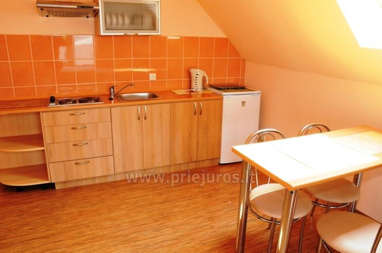 Spacious two-room apartment. Quiet location, 10 min. on foot the the beach - 5