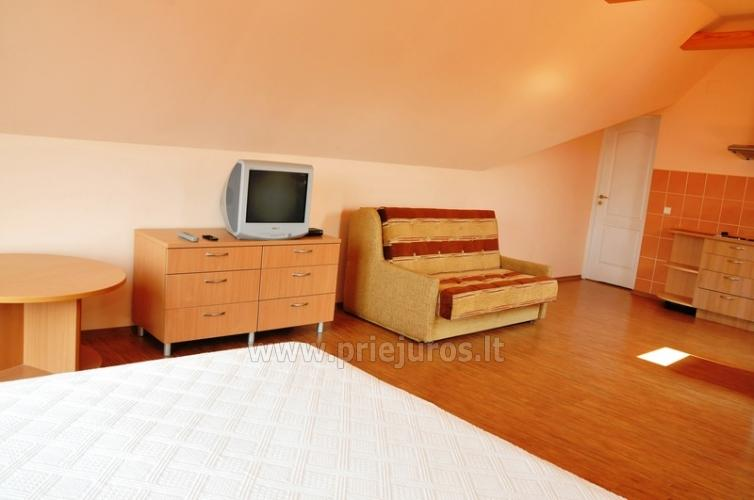 Spacious two-room apartment. Quiet location, 10 min. on foot the the beach - 6