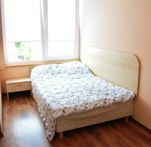 Spacious two-room apartment. Quiet location, 10 min. on foot the the beach - 10