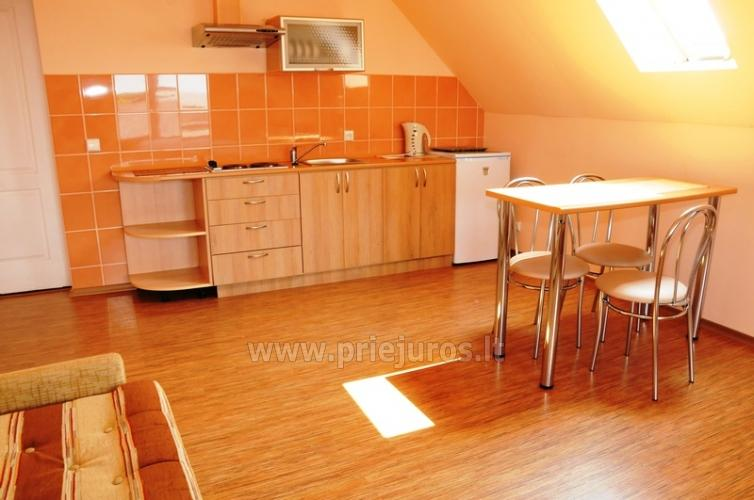 Spacious two-room apartment. Quiet location, 10 min. on foot the the beach - 4