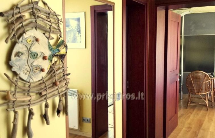 Drei-Zimmer-Wohnung zur Miete in Juodkrante, in der Nähe der Lagune - 2